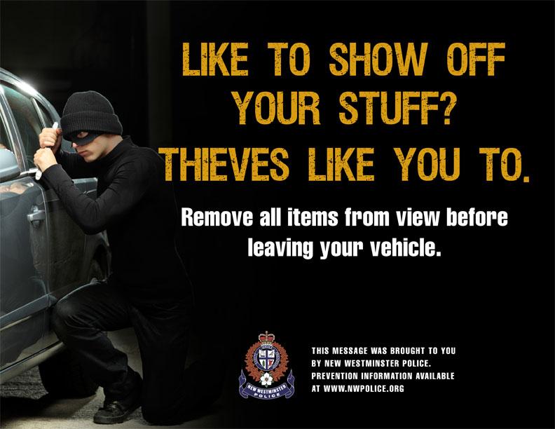 Anti Theft tips
